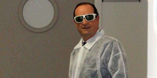 VIDÉOS. François Hollande et l'humour: un an de rire en