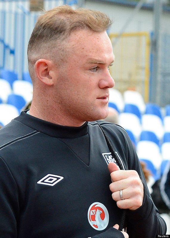 Euro 2012: Wayne Rooney affiche une nouvelle coupe de cheveux -