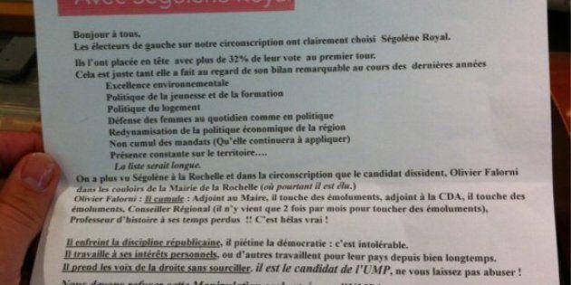 Olivier Falorni en tête face à Ségolène Royal à La Rochelle selon un sondage Sud