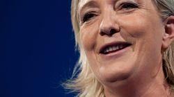 Marine Le Pen veut interdire voiles et kippas... Et la croix chrétienne demandent des internautes