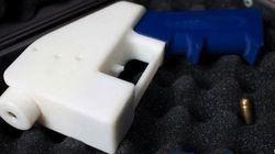 Les premiers tirs de l'arme imprimée en 3D sont un