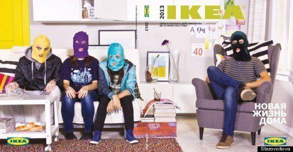 Ikea enlève de son site internet une photo évoquant les Pussy