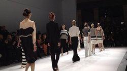 Fesses et rouge à lèvres noir: le premier jour de Fashion Week vu de
