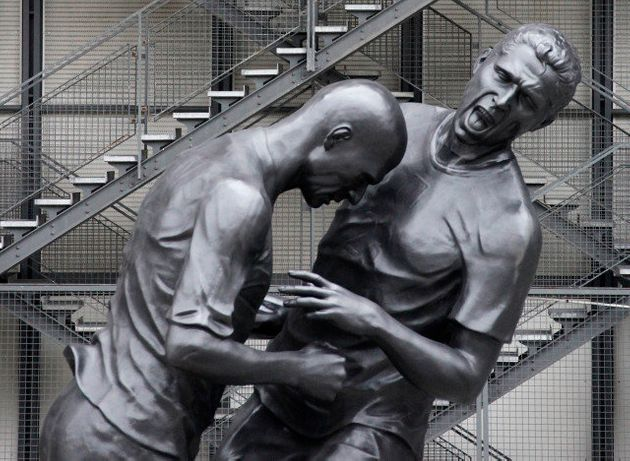 Le coup de boule de Zidane à Materazzi au Centre