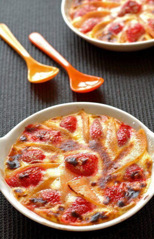 Recette du week-end: gratin aux fraises et au