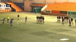 VIDÉO. Football: un match à 11 contre... 22 joueurs en
