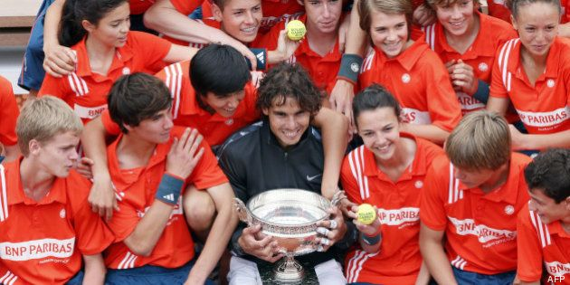 Roland-Garros 2013: comment devient-on ramasseur de balles pour le plus grand tournoi de tennis du