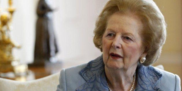 Margaret Thatcher, 87 ans, a été opérée d'une grosseur à la vessie, et elle va