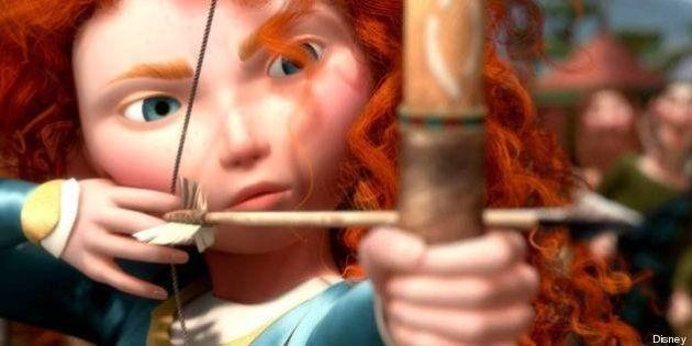 Disney: le relooking de Mérida, héroïne du dessin animé