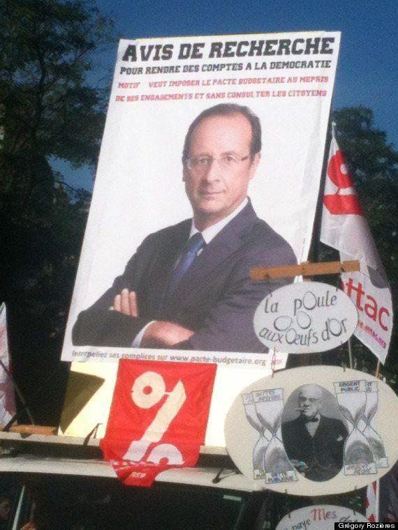 PHOTOS. VIDÉO. Des dizaines de milliers de personnes ont manifesté à Paris contre le traité budgétaire