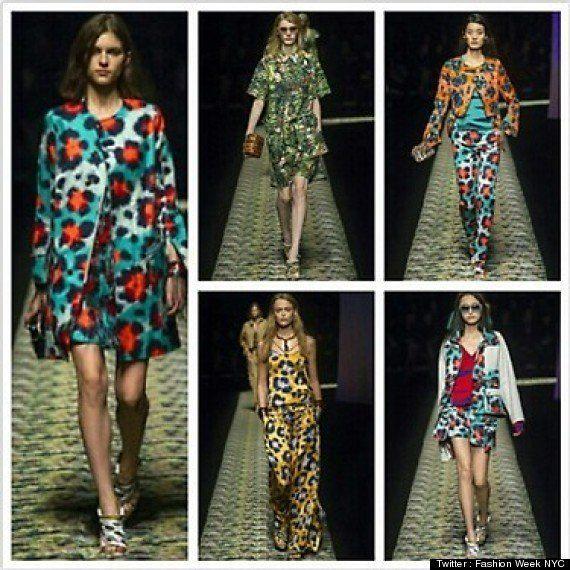 Du léopard bleu et Anna dello Russo : La Fashion Week vue de