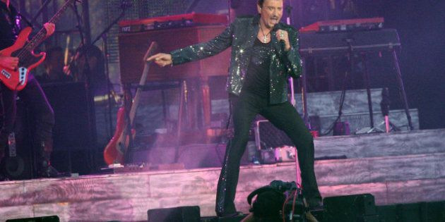 VIDÉOS. Johnny Hallyday fête son anniversaire: 69 ans et un concert au Stade de