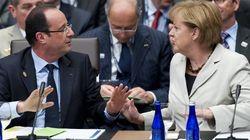 Zone euro: tension croissante entre Angela Merkel et François