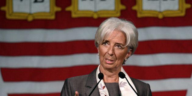 Christine Lagarde (FMI) change d'avis sur le plan d'austérité en