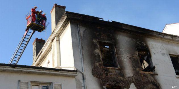 Trois morts dans l'incendie d'une ancienne usine occupée par des familles Roms à