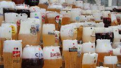 5 centimes par demi de bière pour la