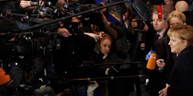 Vote grec: les réactions d'Angela Merkel, François Hollande, Christine Lagarde et toute la classe