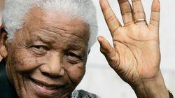 Nelson Mandela quitte