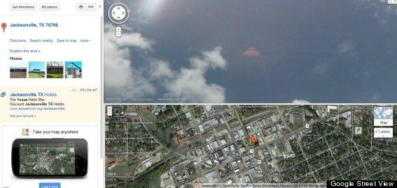 VIDÉO. Google Street View: deux ovnis découverts dans le ciel aux