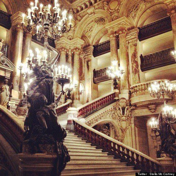 Une jolie russe et du romantisme : la fashion week vue de