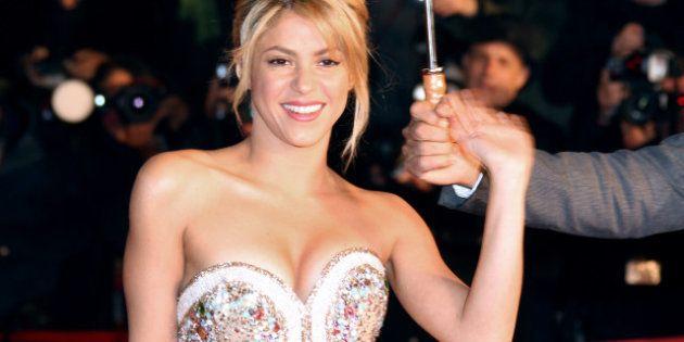 Shakira a accouché et Piqué est fou de joie sur