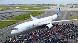L'A350 a été présenté en