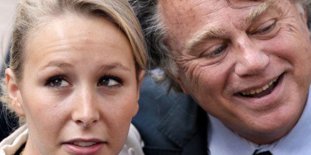 VIDÉOS. Gilbert Collard et Marion Maréchal-Le Pen entrent à l'Assemblée
