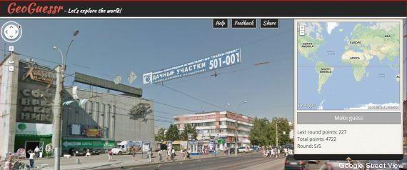 GeoGuessr: le jeu de géographie pour explorer la planète via Google Street