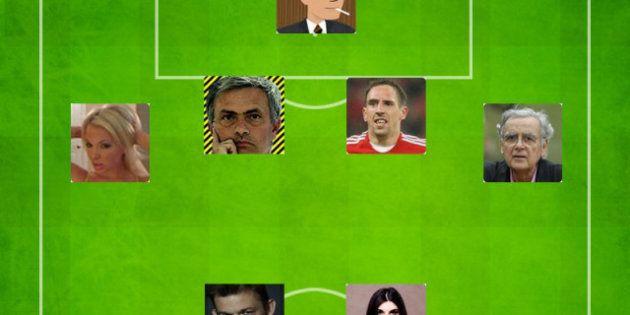 L'équipe type des comptes Twitter révélés par l'Euro