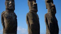 Une nouvelle théorie sur les statues de l'Île de