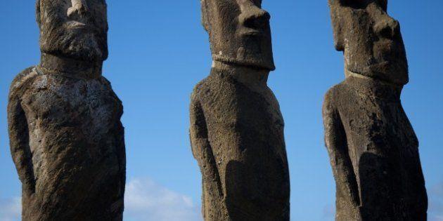 PHOTOS. Les statues de l'Île de Paques: une nouvelle théorie sur les moaï de Rapa