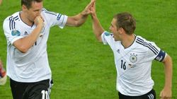Revivez la victoire de l'Allemagne sur la Grèce avec le meilleur (et le pire) du