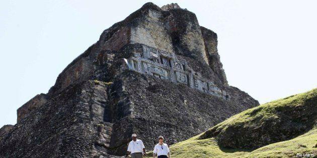 Une pyramide du Belize détruite par une compagnie de