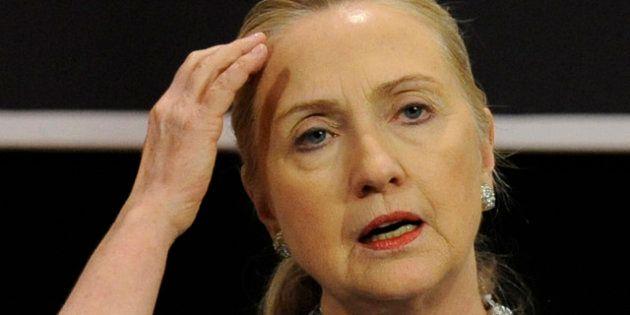 Hillary Clinton à l'hôpital pour une