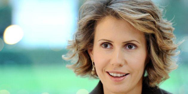 Asma el-Assad vante son