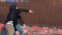 PSG: les casseurs devant la
