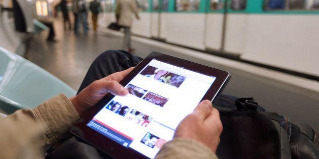 REPORTAGE. Le wifi gratuit du métro