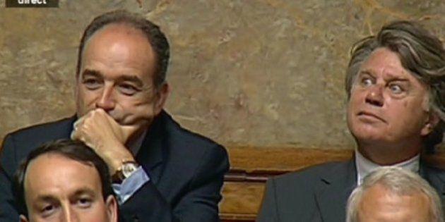 Jean-François Copé siège à côté de Gilbert Collard à l'Assemblée