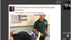 50 cent à l'hôpital après un accident de la