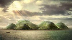 Une idée d'île artificielle pour 300.000 habitants à