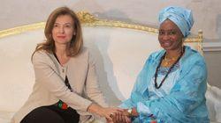 Valérie Trierweiler, en visite au Mali, est de passage à