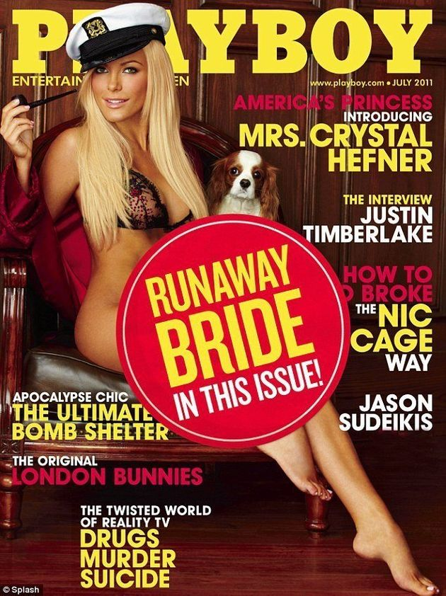 PHOTOS. Mariage: Hugh Hefner a épousé une playmate de 26 ans le soir de