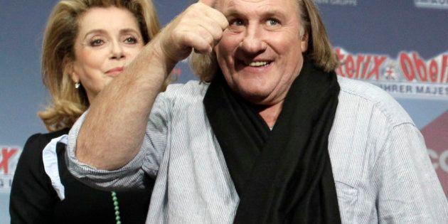 PHOTOS. Gérard Depardieu choque les