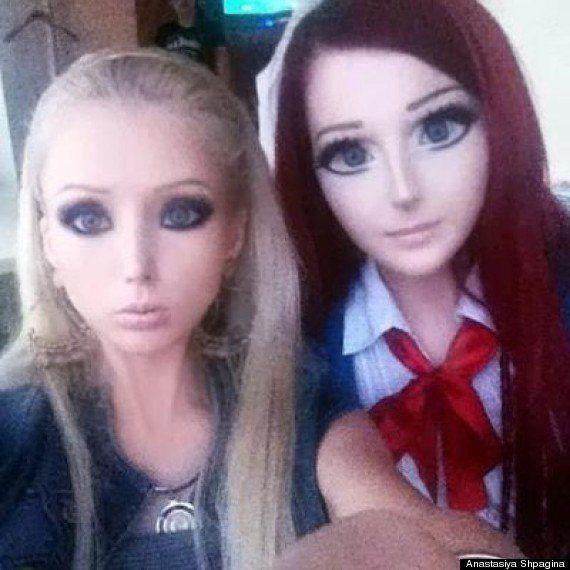 PHOTOS. VIDÉO. Maquillage : Anastasiya Shpagina, l'Ukrainienne qui voulait sortir d'un