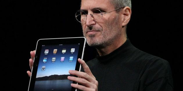 DOCUMENT. Steve Jobs parle de l'iPad et d'iTunes dans une bande sonore de
