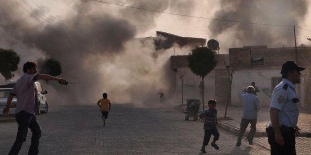 VIDÉO. La Turquie a bombardé des cibles en Syrie après les tirs contre un village