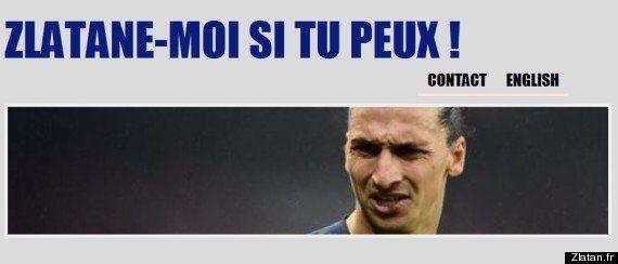 Zlatan Ibrahimovic défié par un internaute qui a créé