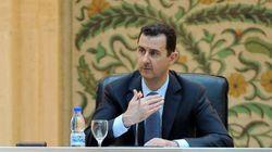 Assad reconnaît