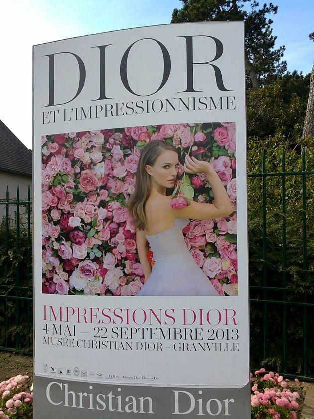 Impressions Dior dans un écrin