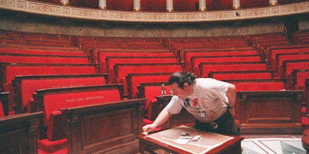 Profession des députés français: toujours beaucoup de fonctionnaires et d'enseignants, mais plus aucun
